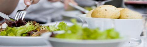 Types d'événements, de salles et d'agencements - Photo d'une assiette de salade