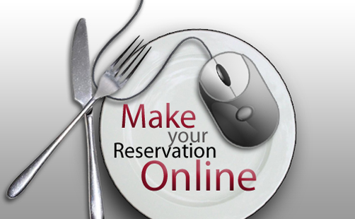 A fork, knife and computer mouse on a plate